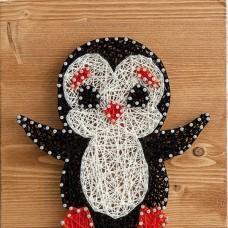 Набор для творчества Стринг Арт. Пингвин А4006