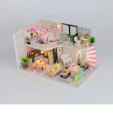 MiniHouse Розовый лофт M035