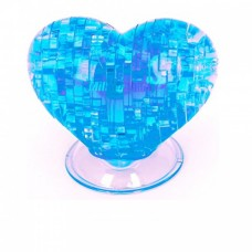 3D Crystal Puzzle Сердце со светом 29021A (120/60)