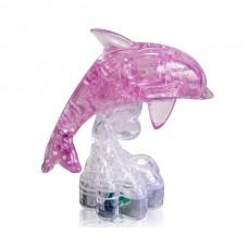 3D Crystal Puzzle Дельфин на подставке со светом 29022A (YJ6917) (120/60)