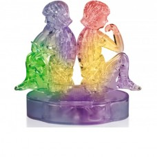 3D Crystal Puzzle Знаки Зодиака Близнецы со светом (9050A) (72/36)