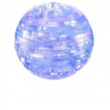 3D Crystal Puzzle Глобус со светом 9040A (120/60)