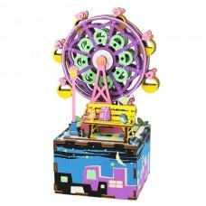 Деревянный конструктор Музыкальная шкатулка-Ferris Wheel AM402